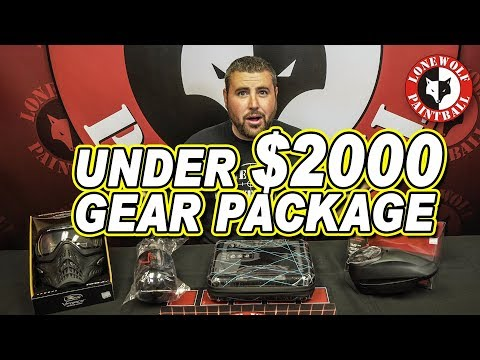 Best Paintball Gear Package Under $2000 | Lone Wolf Paintball Michigan