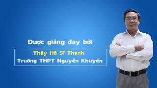 Khóa H2 - Luyện thi THPT QG môn Hóa học | HOC247