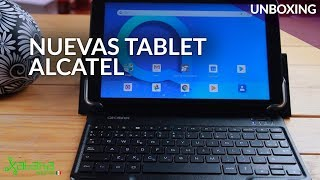 Tablet Alcatel 1T10 Y 1T7, UNBOXING: las tablets con ANDROID GO llegan a MÉXICO