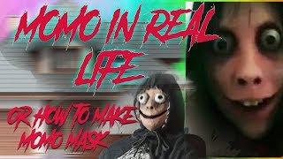 DIY MOMO WHATSAPP IN REAL LIFE Or How To Make Momo Mask