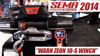 Warn Zeon 10-S Winch - Platinum Ultimate Performance Winch