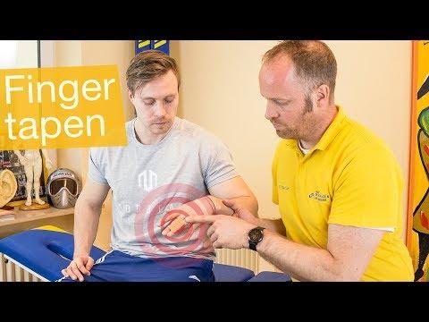 Finger tapen 🤚Tapen nach Sportverletzung, zur Stabilität & Co