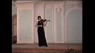 E.Ysaye Sonata No.4 - Svetlana Teplova