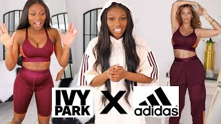 DAMN BEYONCE WHY?! TRYING THE NEW IVY PARK X ADIDAS...DID NOT EXPECT THIS!