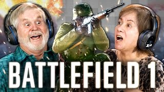 ELDERS PLAY BATTLEFIELD 1 (Elders React: Gaming)