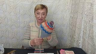 """Вязание крючком для детей от О.С.Литвиной. Шапочка с ушками """"Птенчик""""."""