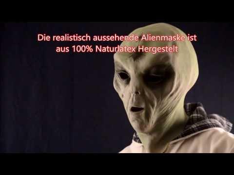 Alien Maske area51 aus Latex - Schweiz