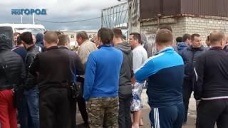 В Рязани проходит забастовка водителей маршруток