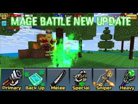 Mage Battle Mode New Update 15.9.0 - Pixel Gun 3D