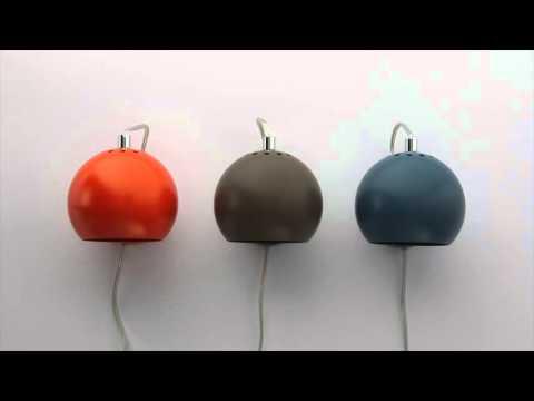 Se video om Frandsen Ball Væglamper