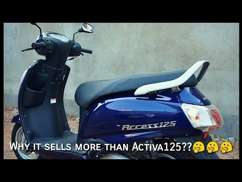 Suzuki Access 125- King in it's segment|| Comparison with Activa125- Full review