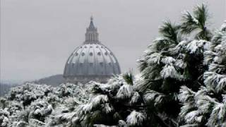 preview picture of video 'Rome and Vatican under snow'