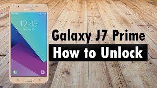 How to Unlock Samsung Galaxy J7 Prime