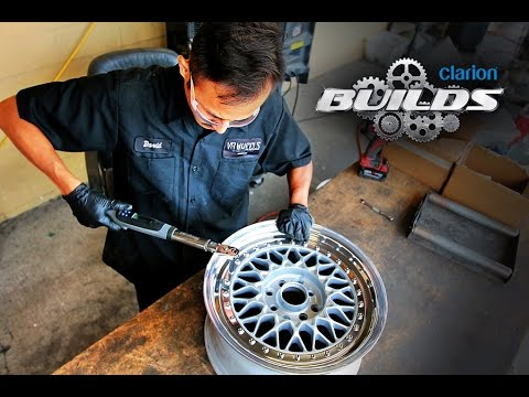 Clarion Builds Breathes New Life Into a Classic Set of BBS RS Wheels