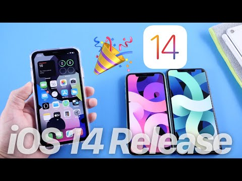 iOS 14 Release Time Today – New Wallpapers & More….