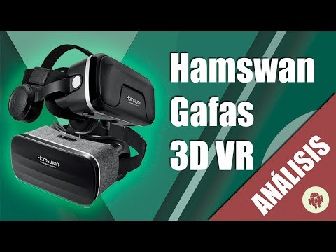 Review gafas 3D VR Hamswan