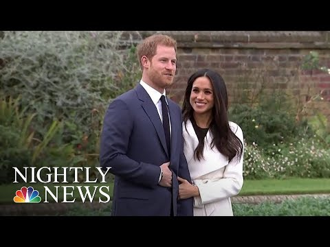 Prince Harry To Wed Meghan Markle In His Grandmother's Castle | NBC Nightly News