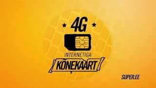 Super on 4G internetiga kõnekaart
