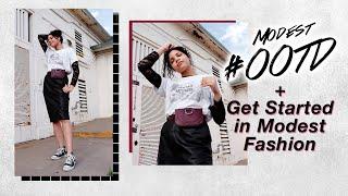 MODEST FASHION LOOKBOOK OOTD + Intro To Modest Fashion // Apostolic