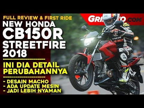 Review New Honda CB150R StreetFire Facelift 2018  First Ride Review   GridOto