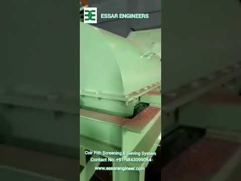 Coco Peat Sieving Machine (Pith Screener)