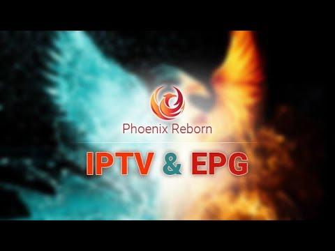 Kodi Phoenix Reborn IPTV Lista & Phoenix Reborn EPG