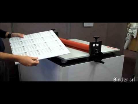 laminatore Calandra manuale a freddo  ((www.importbinder.com))