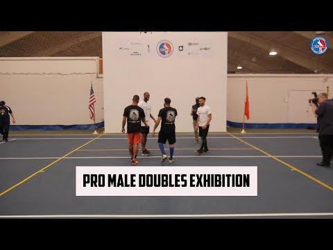 Wallball Mens Pro Doubles Exhibition - Timbo/Bori vs Kadeem/Johnny