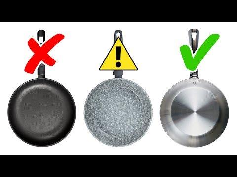 4 Types D'ustensiles de Cuisine à Éviter et 4 Alternatives Sûres