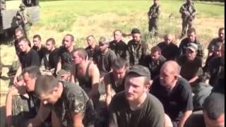 Каратели разбитые под Иловайском. ДНР. 30.08.2014г.