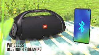 YouTube Video vqwIc6UpI9U for Product JBL Boombox 2 Wireless Speaker by Company JBL in Industry Speakers