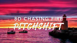8D Chasing Fire — Lauv | PitchShift