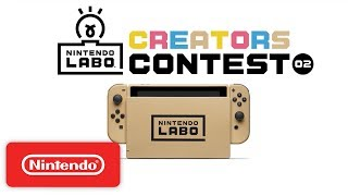 Nintendo Labo Creators Contest No.2 Kick Off! - Nintendo Switch - Video Youtube