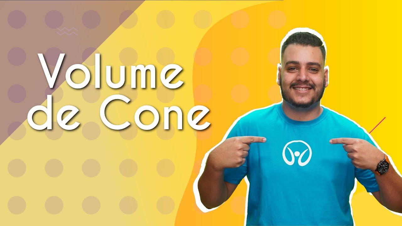 Volume de cone