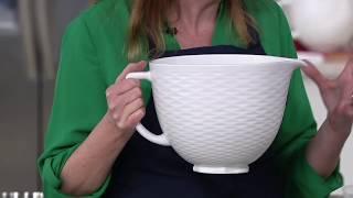 KitchenAid 5-Quart Textured Ceramic Bowl On QVC