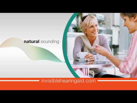 The World's First 100% Invisible Hearing Aid