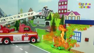 Мультики про машинки   Поджёг в Полицейском участке Мультфильм для детей Мультики 2017