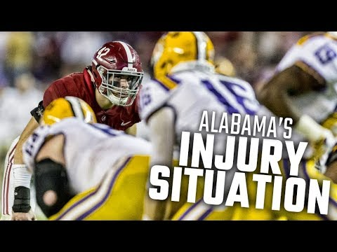 How Alabama's handling multiple defensive injuries