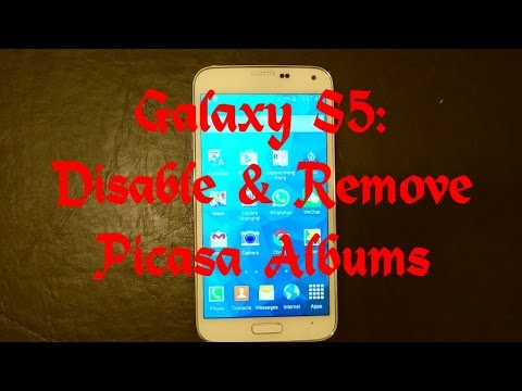 Galaxy S5: How To Disable & Remove Picasa Albums Mp3
