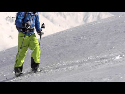 Ski touring equipment with Freeride World Champion Nadine Wallner