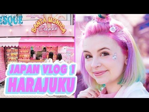 ♡ SHOPPING IN HARAJUKU | JAPAN VLOG 1 ♡