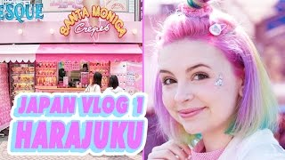 ♡ SHOPPING IN HARAJUKU | JAPAN VLOG 1 ♡