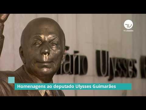 Câmara inaugura estátua do Ulysses Guimarães - 07/10/19