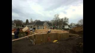 EPS Builds Habitat House Boone 2014
