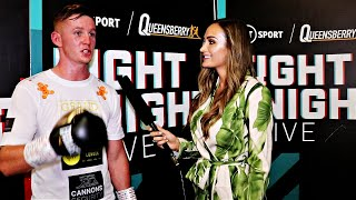 Micky Burke STOPS DURABLE OPPONENT - 'I thought, 'STOP LAUGHING AT ME!'