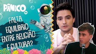 Nikolas Ferreira: 'Um país que tem Felipe Neto como referência não é um país sério'