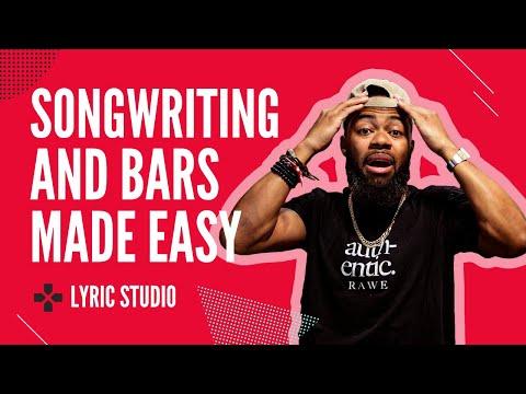 Writing Song Lyrics And Bars Just Got Easier   Lyric Studio