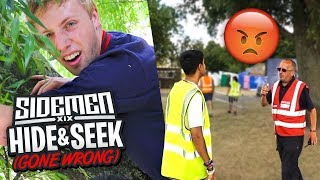 SIDEMEN HIDE & SEEK IN WIRELESS FESTIVAL (GONE WRONG)