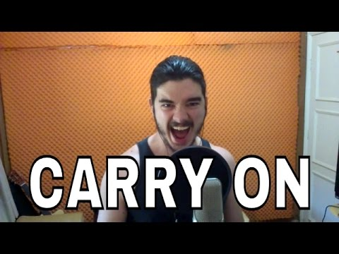 """Carry On"" - MANOWAR cover"