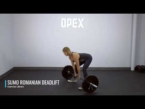 Sumo Romanian Deadlift - OPEX Exercise Library
